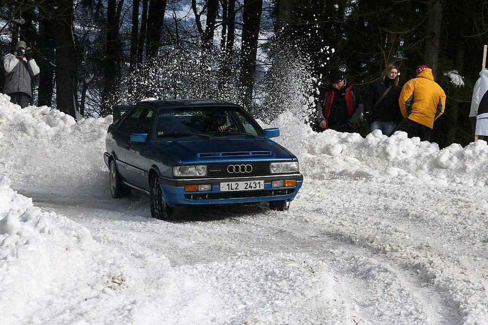 Závody do vrchu Kozákov 2009.