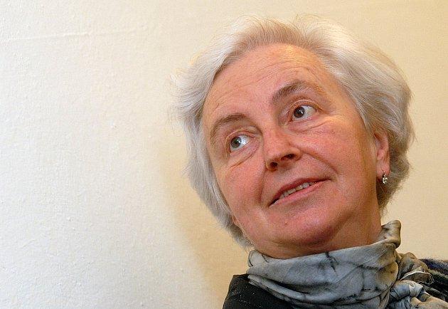 Dědička Johanna Kammerlander u soudu.