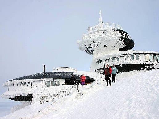Polská bouda na Sněžce.