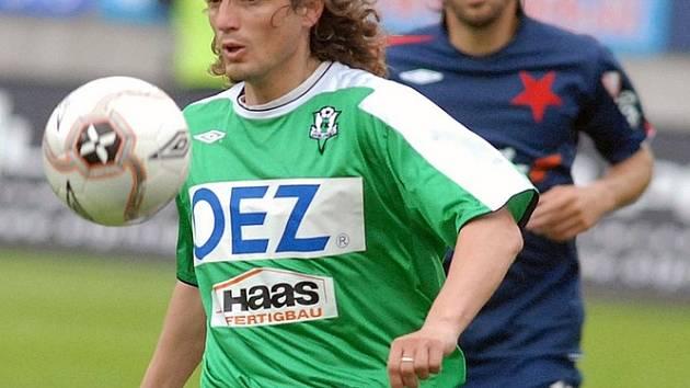 JOSEF WEBER hrál takto ještě na jaře v barvách FK Jablonec 1. ligu, nyní se představí v dresu FKP Turnov v utkání 3. kola Divize C proti Hlavici.