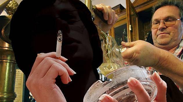 CIGARETKA K JÍDLU. Ve většině restaurací je stále trpěna, ale na pohostinském nebi se objevují vlaštovky, které kuřáky postupně vytěsňují do stále odlehlejších koutů. Nekuřáckých restaurací a podniků stále přibývá, bohužel jen ve větších městech.