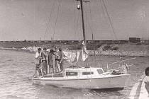 Libštátští jachtaři u moře.