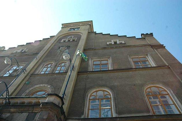 Historická radnice v Semilech.