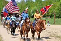 Ranč Severní hvězda v Přítkově pořádal westernovou show.