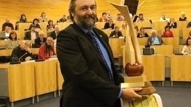 Ředitel teplického gymnázia Zdeněk Bergman.