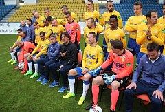 Focení FK Teplice před startem jara