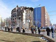 Demolice bývalého hotelu Imperiál začala.