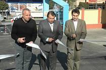 Ve středu odpoledne došlo k slavnostnímu předání opraveného úseku silnice včetně zrekonstruovaných inženýrských sítí.