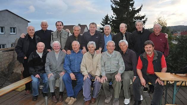 Setkání bývalých hráčů Baníku Hrdlovka