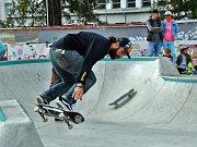Skatepark s vanou a inline dráhou v Teplicích je k dispozici pro veřejnost od září 2017.