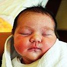 MELANIE TONKOVÁ se narodila Martině Čonkové z Duchcova 25. ledna v 0.22 hod. v teplické porodnici. Měřila 46 cm a vážila 3 kg.