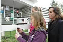 Základní škola A. Sochora Duchcov otevřela Minienergetické a meteorologické centrum