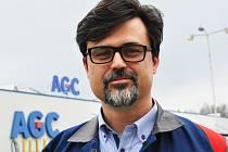 Personální ředitel závodu AGC Automotive Czech v Chudeřicích Tomáš Brokeš.