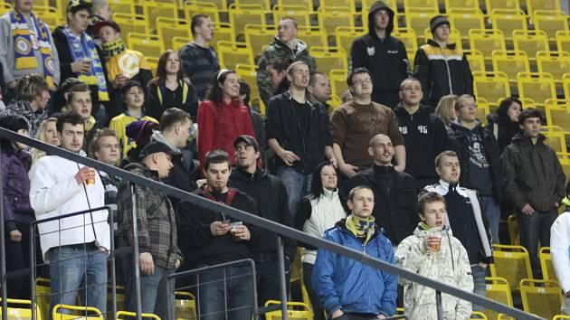 Diváci na fotbale Teplice - Liberec