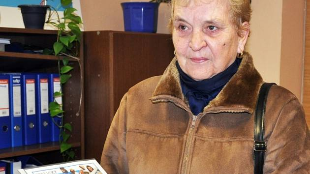 Pro trojitou cibulákovou misku si do redakce přišla Václava Zouharová ze Žimu.