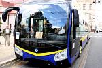 Nový trolejbus v Teplicích, prototyp Škoda 33 Tr.