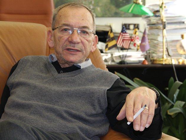 Primátor Teplic a senátor Jaroslav Kubera.