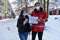 Dobrovolníci dostali za pomoc  v boji proti covidu dárky a mince