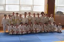 Mladí závodníci SK Judo Teplice