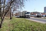 Křižovatku u Lidlu v Bílině čekají úpravy