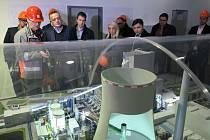 Elektrárnu Ledvice navštívil srbský ministr energetiky.