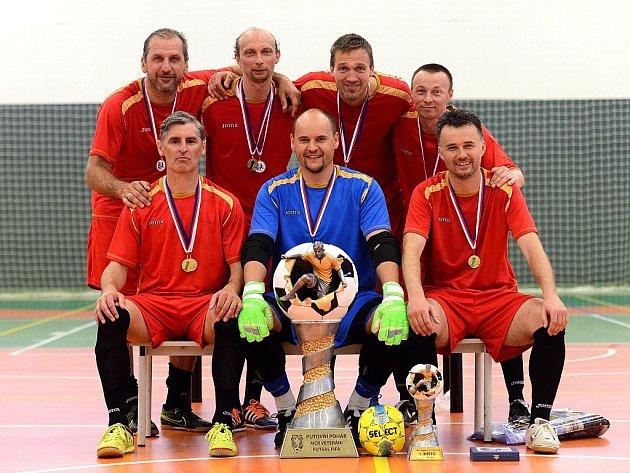 Mistrovství České republiky Veteránů ve futsalu, 7. - 8. května 2016.