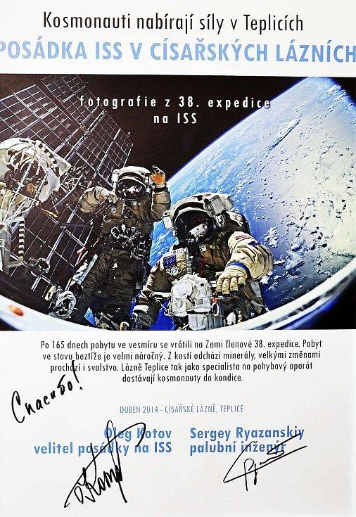Po návratu z vesmíru nabírali ruští kosmonauti síly v teplických lázních.