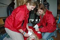 Mladí zdravotníci soutěžili v Novosedlicích