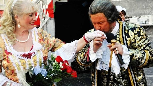 20. jubilejní ročník Casanovských slavností