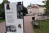 Výstava v šanovském parku v Teplicích, Paměť národa.