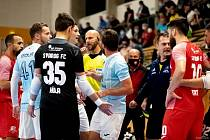 Zápas Plzeň - Teplice byl hodně vyhrocený.