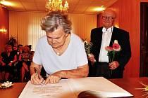 Věra a Alois Kulhánkovi oslavili diamantovou svatbu