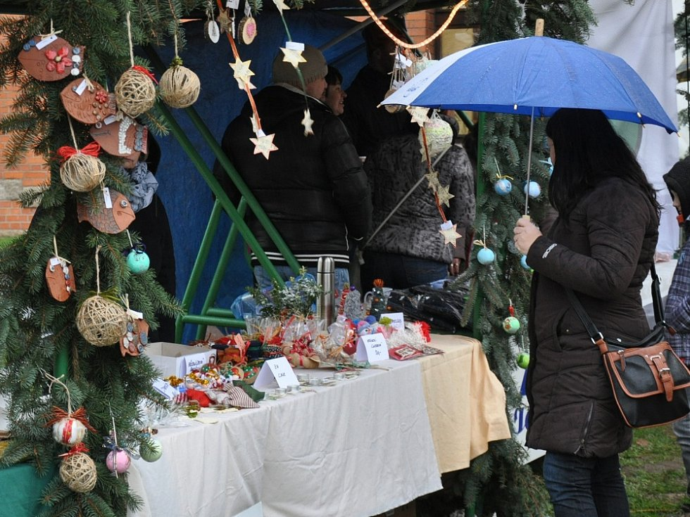 Vánoční jarmark v Krupce