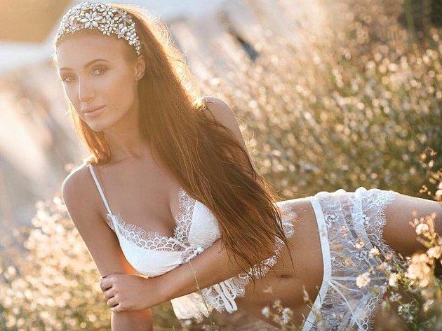 Modelka a ředitelka Miss Face Taťána Makarenko
