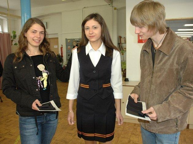 Studenti dubského gymnázia byli opravdu nadšení.