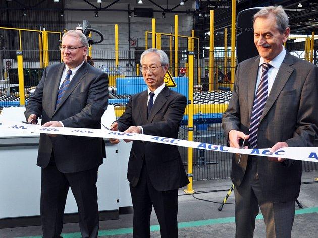 Společnost AGC Flat Glass Czech uvedla v Teplicích do provozu modernizovanou linku na výrobu plochého skla.