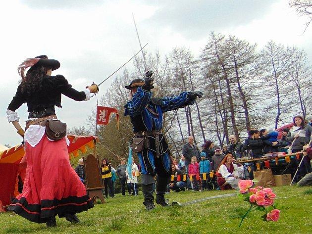 Benefiční akce S kordem pro Jirku v Proboštově.