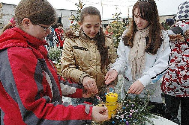 Vánoční trhy ve Fojtovicích 2009