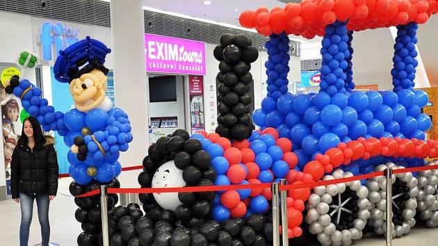 Balónková výstava v Galerii Teplice
