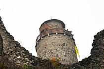 Na hradu Kostomlaty zprovoznili rozhlednu