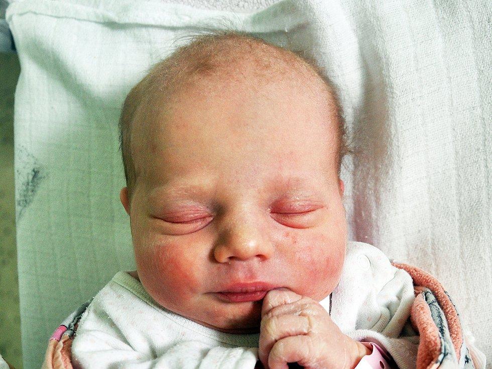 Sabina Nejedlá se narodila Lence Nejedlé z Teplic 10. dubna v teplické porodnici v 11,48 hodin. Měřila 48 cm, vážila 2,95 kg.