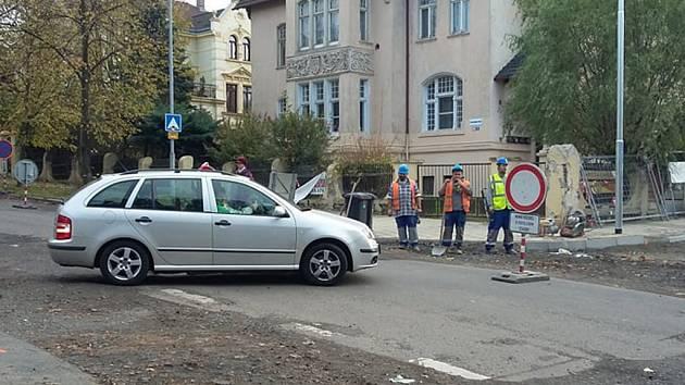 Uzavírka ulice Pod Doubravkou už skončila.