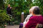 V tropickém skleníku Botanické zahrady v Teplicích se poprvé koncertovalo.