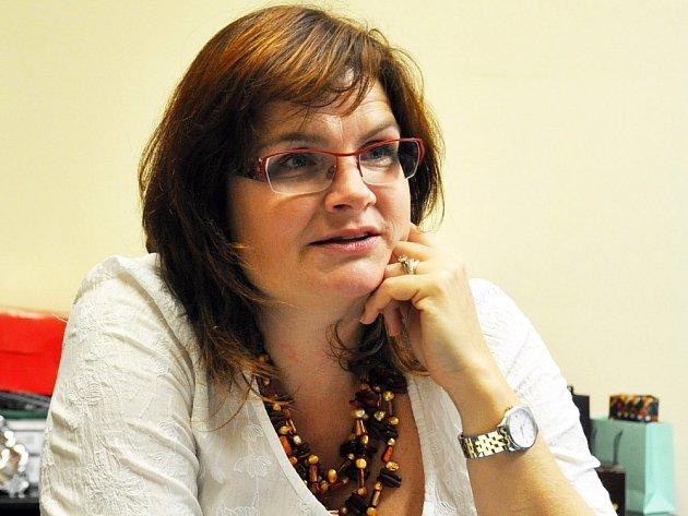 ŘEDITELKA Konzervatoře Teplice Kateřina Boudníková.