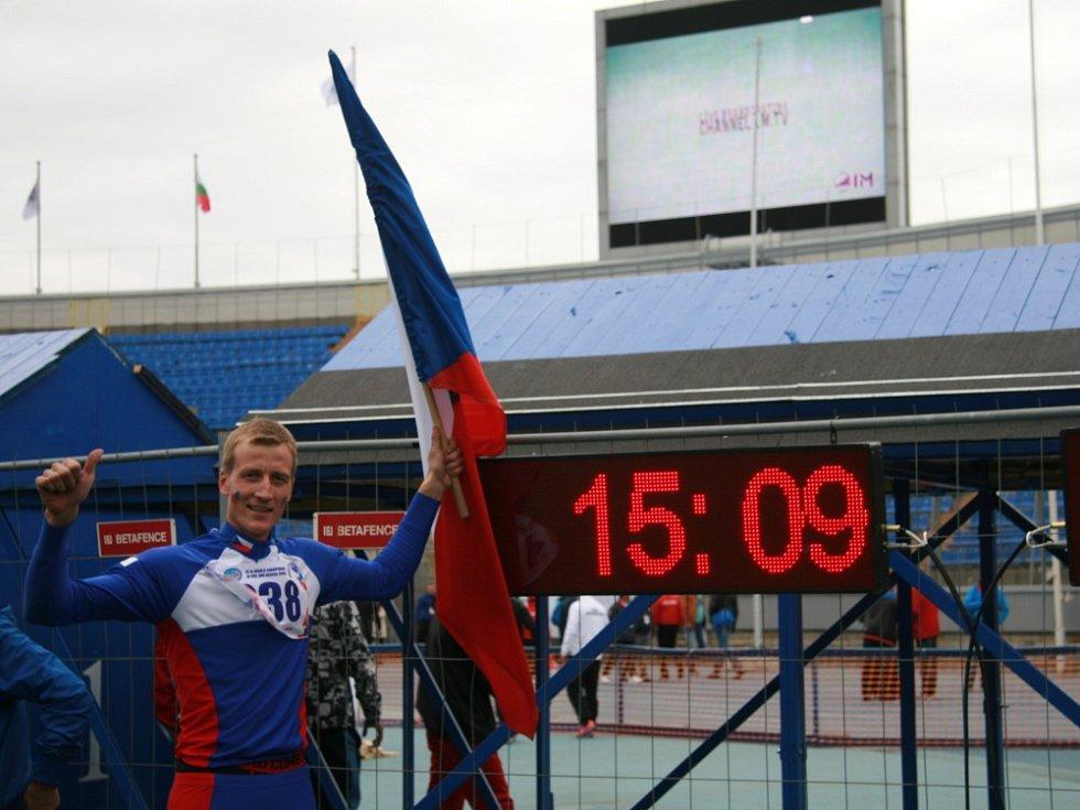 Jakub Pěkný z Moldavy, reprezentant České republiky a držitel čestného titulu Mistr požárního sportu ČR