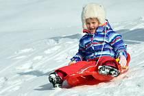 Zimní radovánky ve skiareálu Bouřňák.