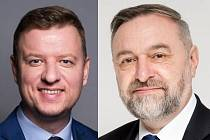 Hynek Hanza a Zdeněk Bergman