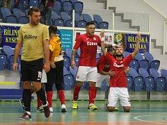 Futsalisté Teplic porazili Spartu Praha.