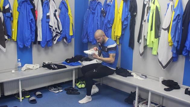 Tomáš Vondrášek v kabině