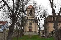 Obec Zabrušany, kostel.